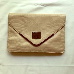 Gorgeous envelope clutch from BCBG